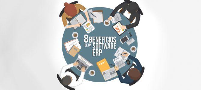 10 beneficios de implementar un Software ERP a tu negocio