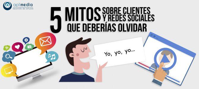 5 mitos sobre clientes y redes sociales