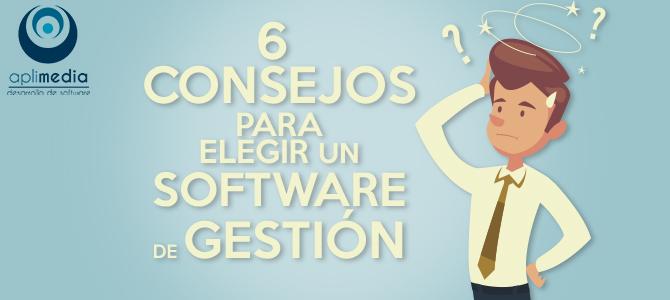 Consejos para elegir un software de gestión