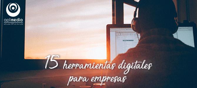 15 herramientas digitales para empresas en 2020