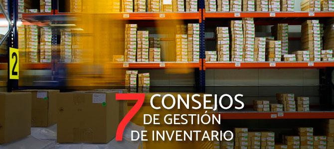 7 Consejos de gestión de inventario para PYMES