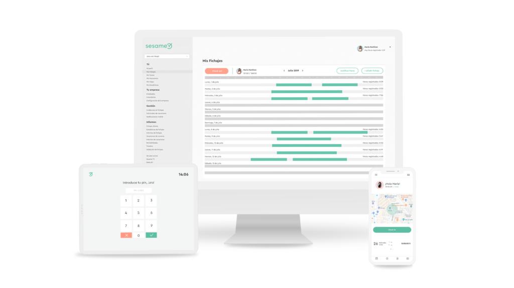 Software de control horario para empresas